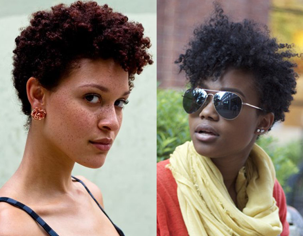 Pixie Mohawk: Keep it funky with color on an edgy 'fro-hawk. You can ...
