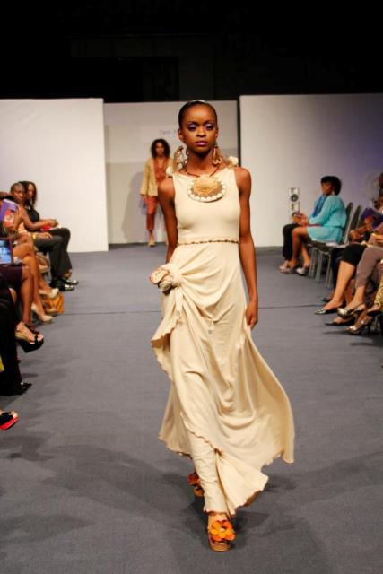 Guyanese designer Carol Fraser's 'Organic Orgasm' collection.