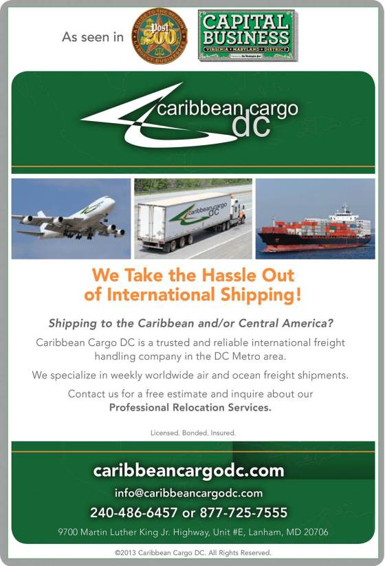 Caribbean Cargo ADVT