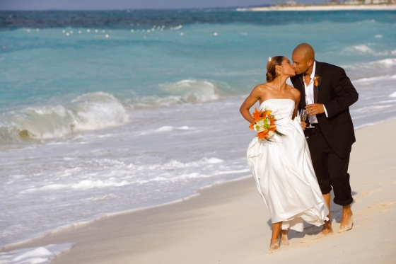 wedding day in the bahamas carib life style
