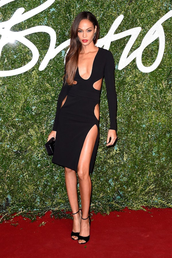 joan-smalls-tom-ford-cutout-dress-2014-british-fashion-awards
