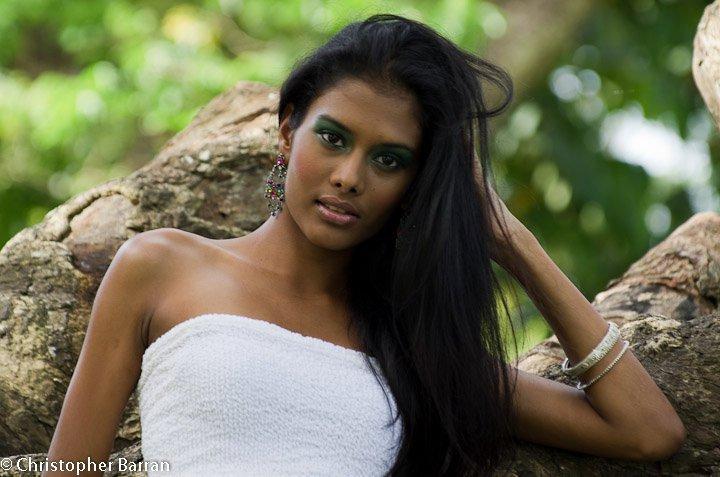 Beautiful caribbean women